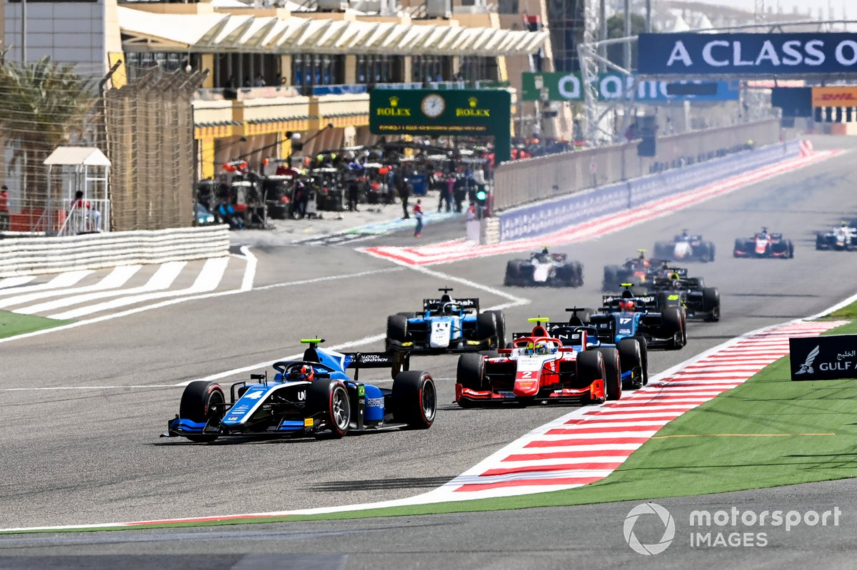 Felipe Drugovich, Uni-Virtuosi y Oscar Piastri, Prema Racing