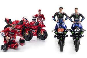 Equipos presentados de MotoGP