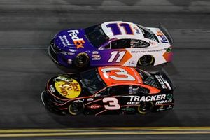 Austin Dillon, Richard Childress Racing, Chevrolet Camaro, Denny Hamlin, Joe Gibbs Racing, Toyota Camry