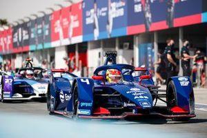 Robin Frijns, Envision Virgin Racing, Audi e-tron FE07, Jake Dennis, BMW i Andretti Motorsport, BMW iFE.21