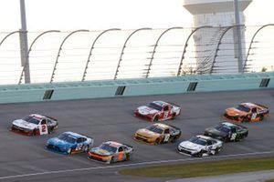 Austin Cindric, Team Penske, Ford Mustang PPG, Noah Gragson, JR Motorsports, Chevrolet Camaro Bass Pro Shops TrueTimber BRCC, Myatt Snider, Richard Childress Racing, Chevrolet Camaro TaxSlayer
