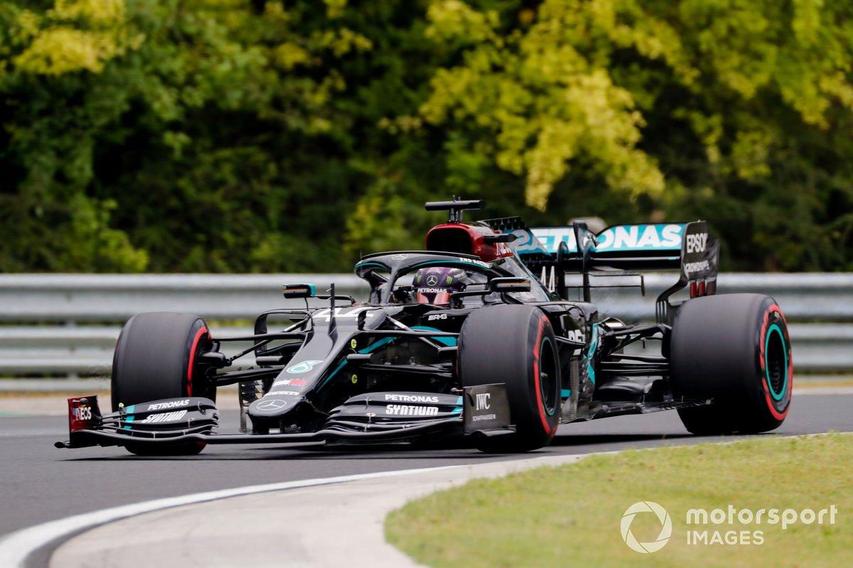 Hongrie - Lewis Hamilton, Mercedes