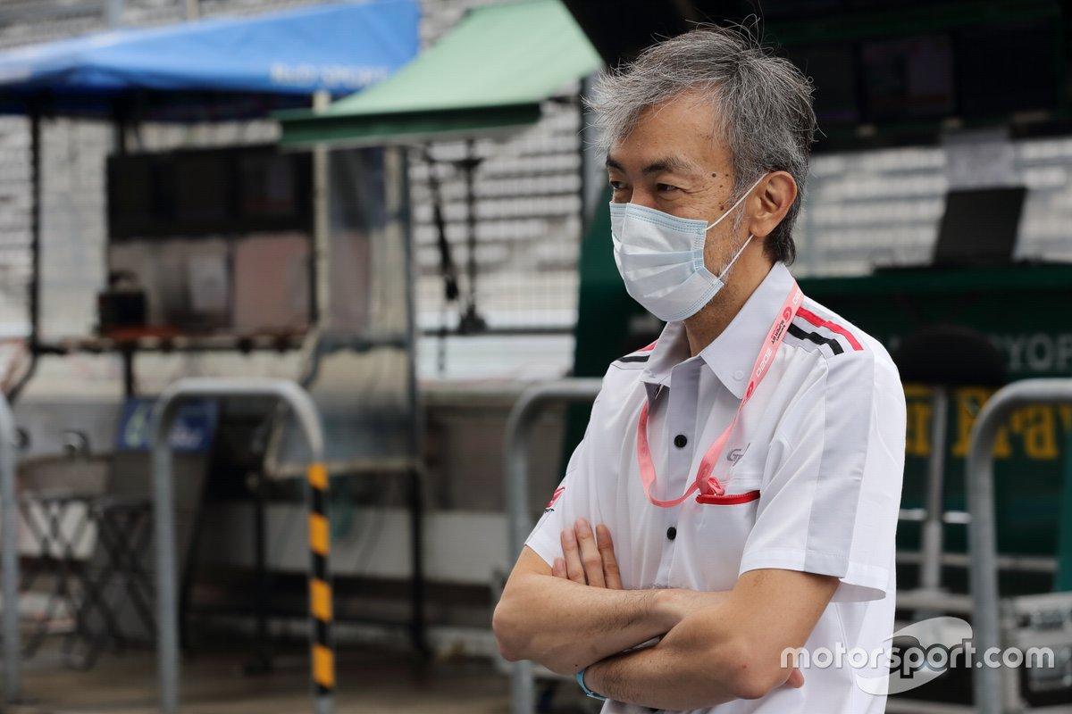 服部尚貴GTAレースディエクター Naoki Hattori GTA race director