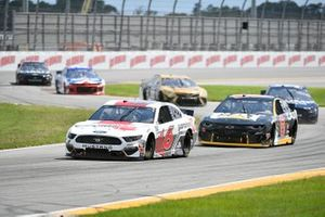 Ryan Newman, Roush Fenway Racing, Ford Mustang Guaranteed Rate, Tyler Reddick, Richard Childress Racing, Chevrolet Camaro Cat App