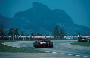 Renn-Action beim GP Brasilien 1984 in Rio de Janeiro