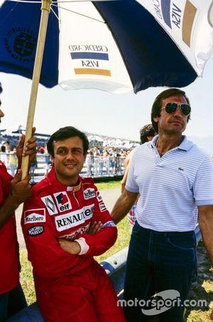 Patrick Tambay with Carlos Reutemann