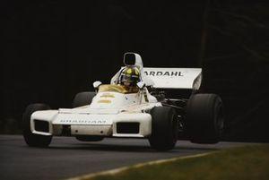 Wilson Fittipaldi, Brabham BT34 Ford, durante la práctica