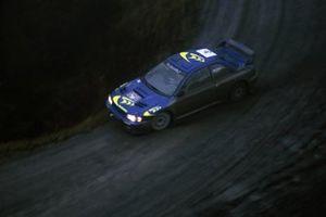 McRae, Nicky Grist, Subaru Impreza WRC