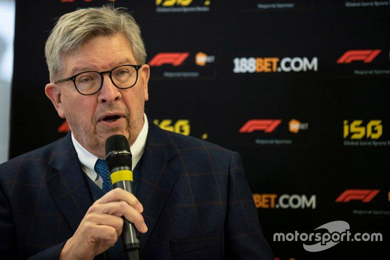 Presentazione 188Bet con Ross Brawn, Amministratore delegato degli sport motoristici, FOM