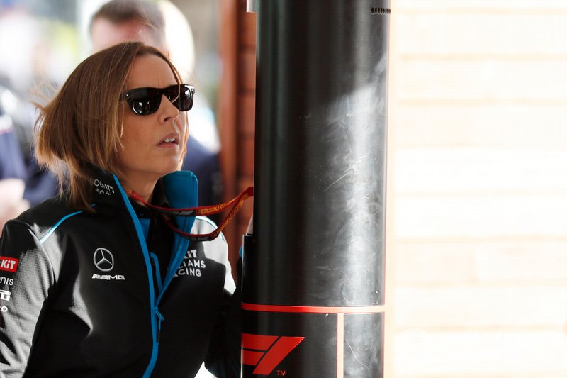 Claire Williams, Subdirectora del equipo, Williams Racing