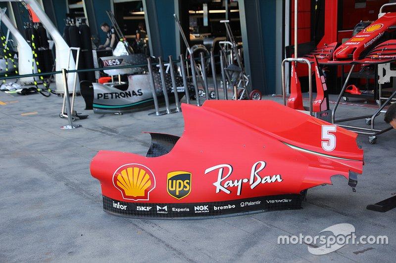 Detalle del Ferrari SF1000