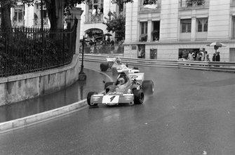 Niki Lauda, March 721X, Wilson Fittipaldi, Brabham BT33