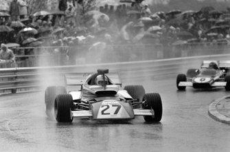 Rolf Stommelen, Eifelland 21, Jacky Ickx, Ferrari 312B2