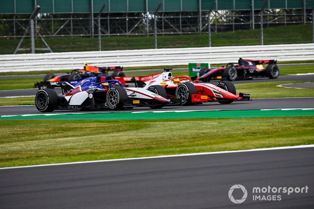 Mick Schumacher, Prema Racing, in battaglia con Louis Deletraz, Charouz Racing System