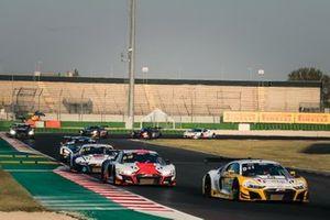 #25 Sainteloc Racing Audi R8 LMS GT3: Arthur Rougier, Christopher Haase