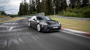 Porsche Panamera en Nurburgring