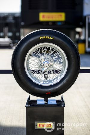Stella Bianca Tyres in the paddock