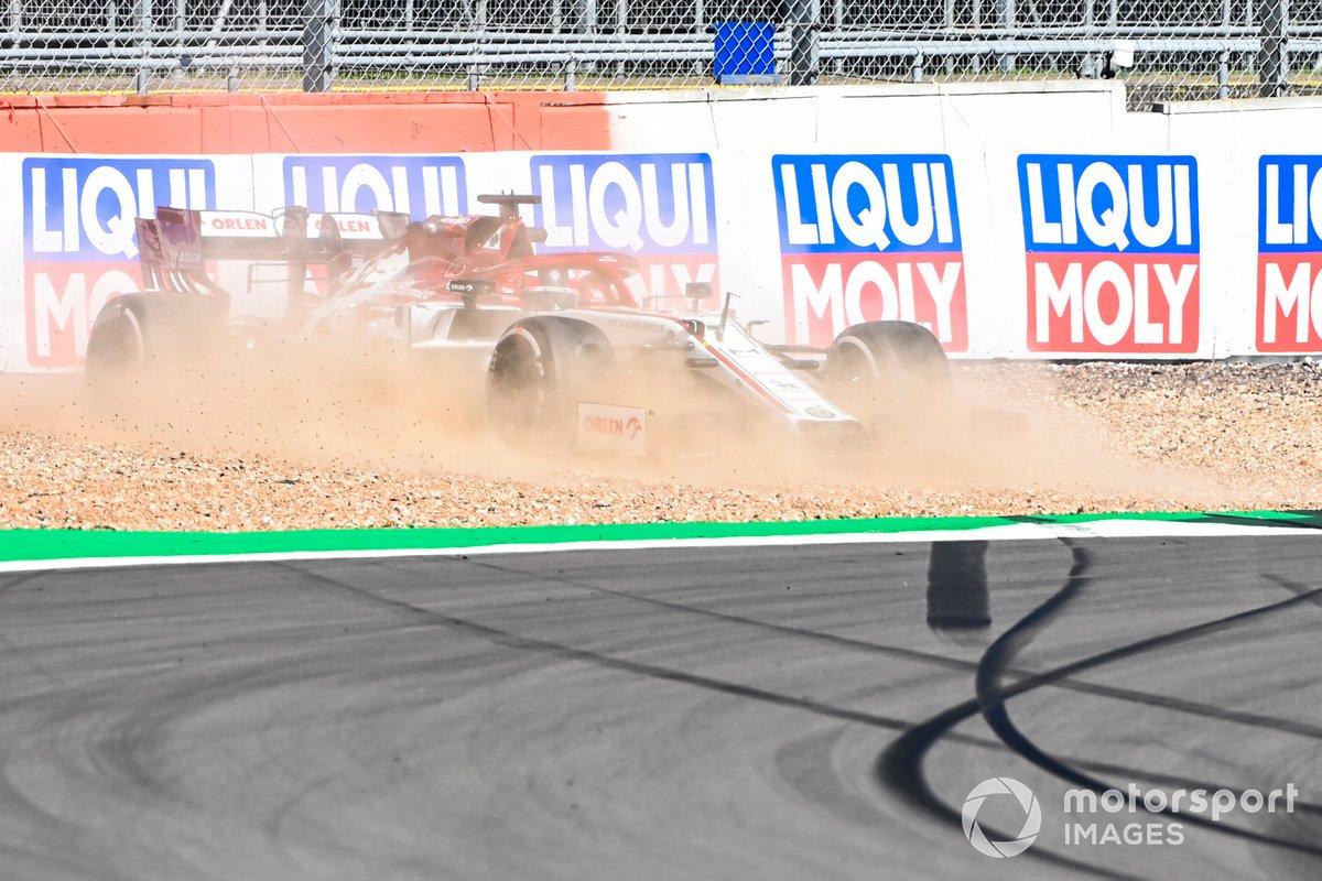 Trompo de Kimi Raikkonen, Alfa Romeo Racing C39