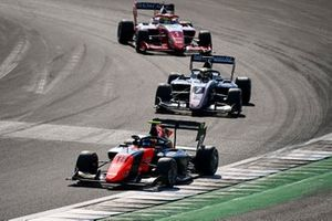 Bent Viscaal, MP Motorsport, Theo Pourchaire, ART Grand Prix and Oscar Piastri, Prema Racing