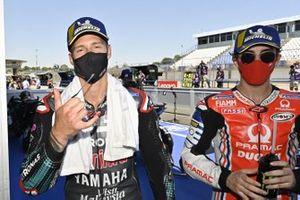 Fabio Quartararo, Petronas Yamaha SRT, Francesco Bagnaia, Pramac Racing