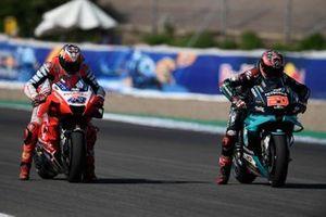 Jack Miller, Pramac Racing, Fabio Quartararo, Petronas Yamaha SRT