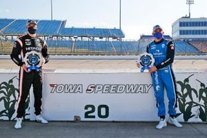 Pole Winners Josef Newgarden, Team Penske Chevrolet and Conor Daly, Carlin Chevrolet