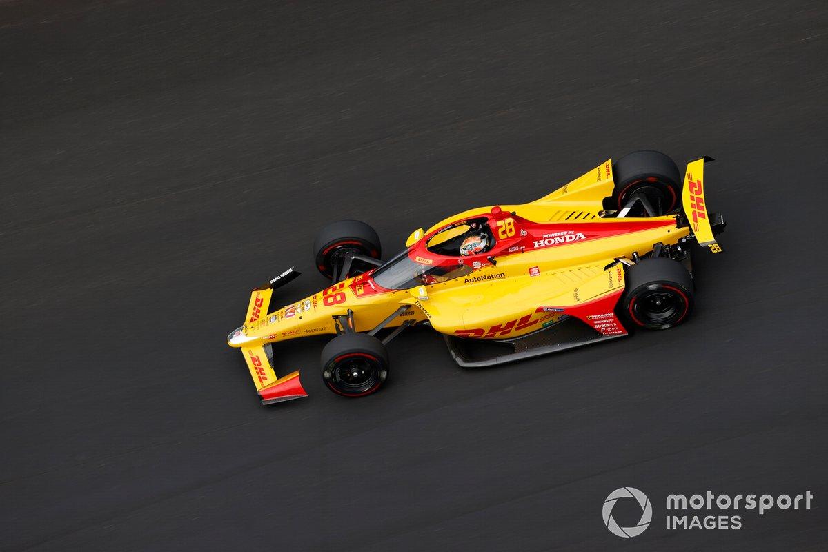 5º Ryan Hunter-Reay, Andretti Autosport - Honda