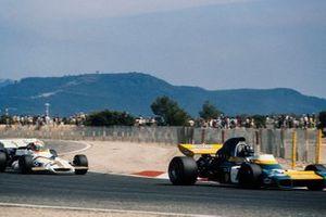 Graham Hill, Brabham BT34 Ford, Jo Siffert, BRM P160, GP di Francia del 1971