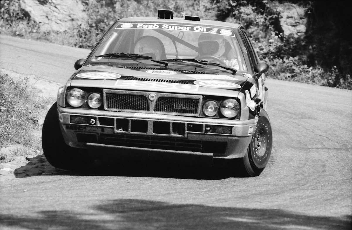 Yves Loubet, Jean-Marc Andrie, Lancia Delta Integrale