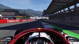 Трасса Red Bull Ring в обратном направлении в компьютерной игре F1 2019