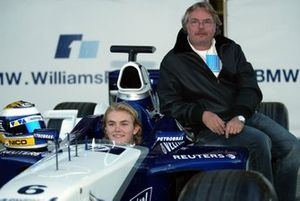 Nico Rosberg, Williams FW24, Keke Rosberg