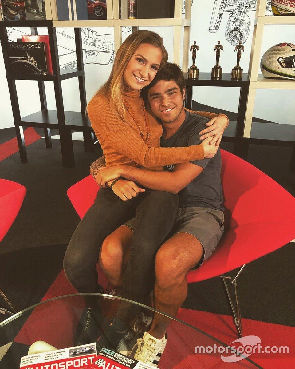 Julia e Pedro Piquet