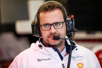 Julien Simon-Chautemps, ingeniero de carreras de F1 de Kimi Räikkönen, Alfa Romeo