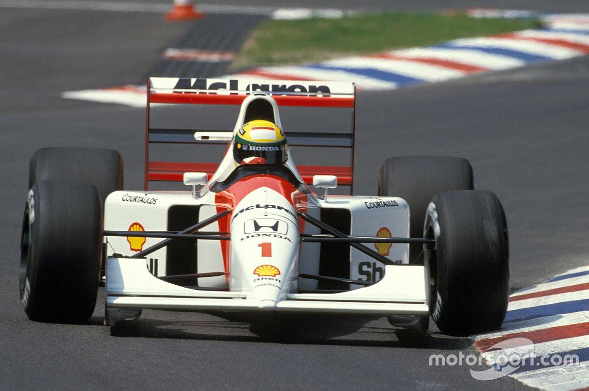 Ayrton Senna, McLaren MP4-7A Honda, GP di Germania del 1992