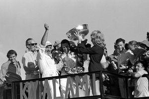 Ganador de la carrera Mario Andretti, Ferrari