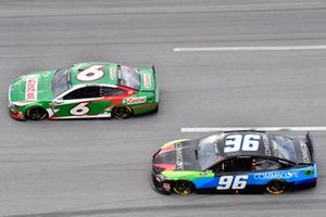#6: Ryan Newman, Roush Fenway Racing, Ford Mustang Castrol, Daniel Suarez, Gaunt Brothers Racing, Toyota Camry CommScope