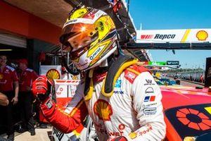 Pole sitter Scott McLaughlin, DJR Team Penske Ford