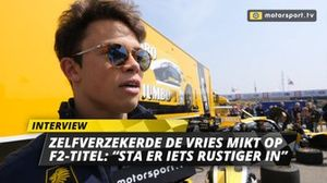 Nyck de Vries interview Jumbo Racedagen