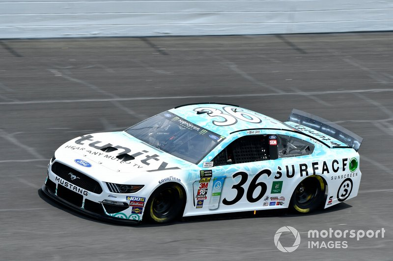 9. Matt Tifft, Front Row Motorsports, Ford Mustang