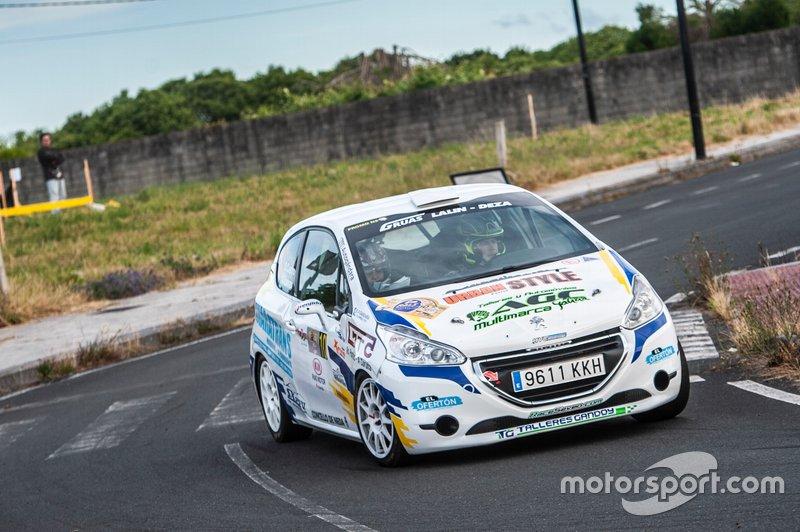 Daniel Castro-Andrea Lamas(Peugeot 208 vti)