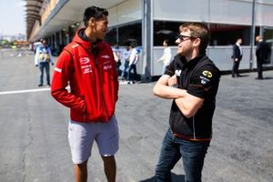 Sean Gelael, PREMA RACING and Jordan King, MP MOTORSPORT