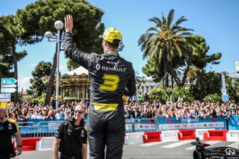 Daniel Ricciardo demonstration on the streets of Nice, France