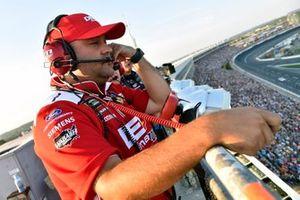 NASCAR Spotter Josh Williams