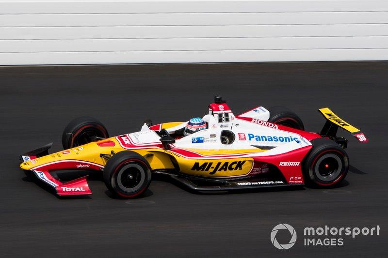 Platz 3: Takuma Sato, Rahal Letterman Lanigan Racing Honda