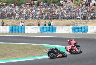Maverick Vinales, Yamaha Factory Racing, Andrea Dovizioso, Ducati Team, Danilo Petrucci, Ducati Team
