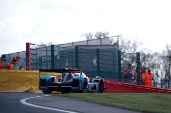 #17 SMP Racing BR Engineering BR1: Stéphane Sarrazin, Egor Orudzhev, Sergey Sirotkin lost his wheel