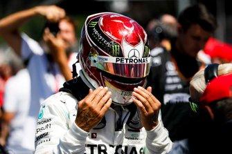 Lewis Hamilton, Mercedes AMG F1 sur la grille