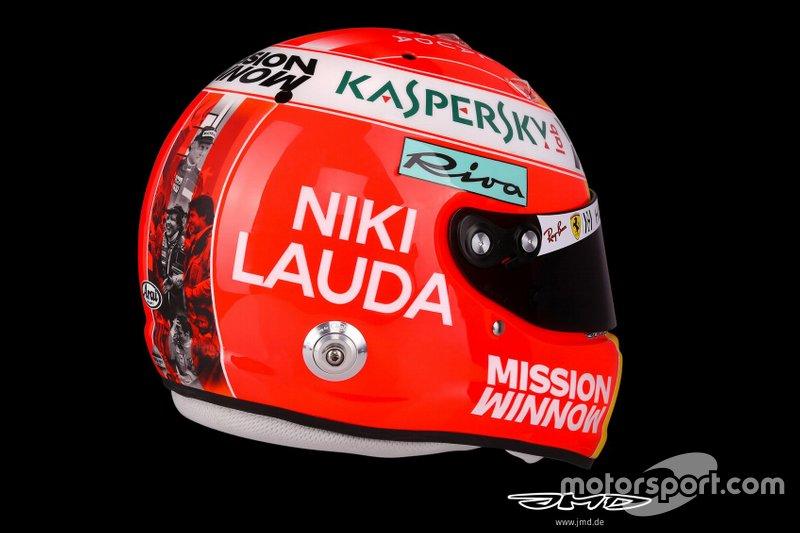 Helm van Sebastian Vettel, Ferrari, Monaco