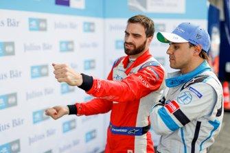 Jérôme d'Ambrosio, Mahindra Racing, spiega cosa è successo nel suo giro di superpole a Felipe Massa, Venturi Formula E