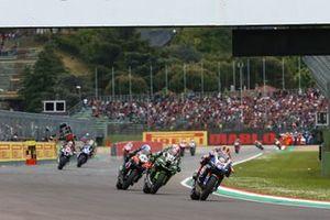 Michael van der Mark, Pata Yamaha, Leon Haslam, Kawasaki Racing Team, Toprak Razgatlioglu, Turkish Puccetti Racing